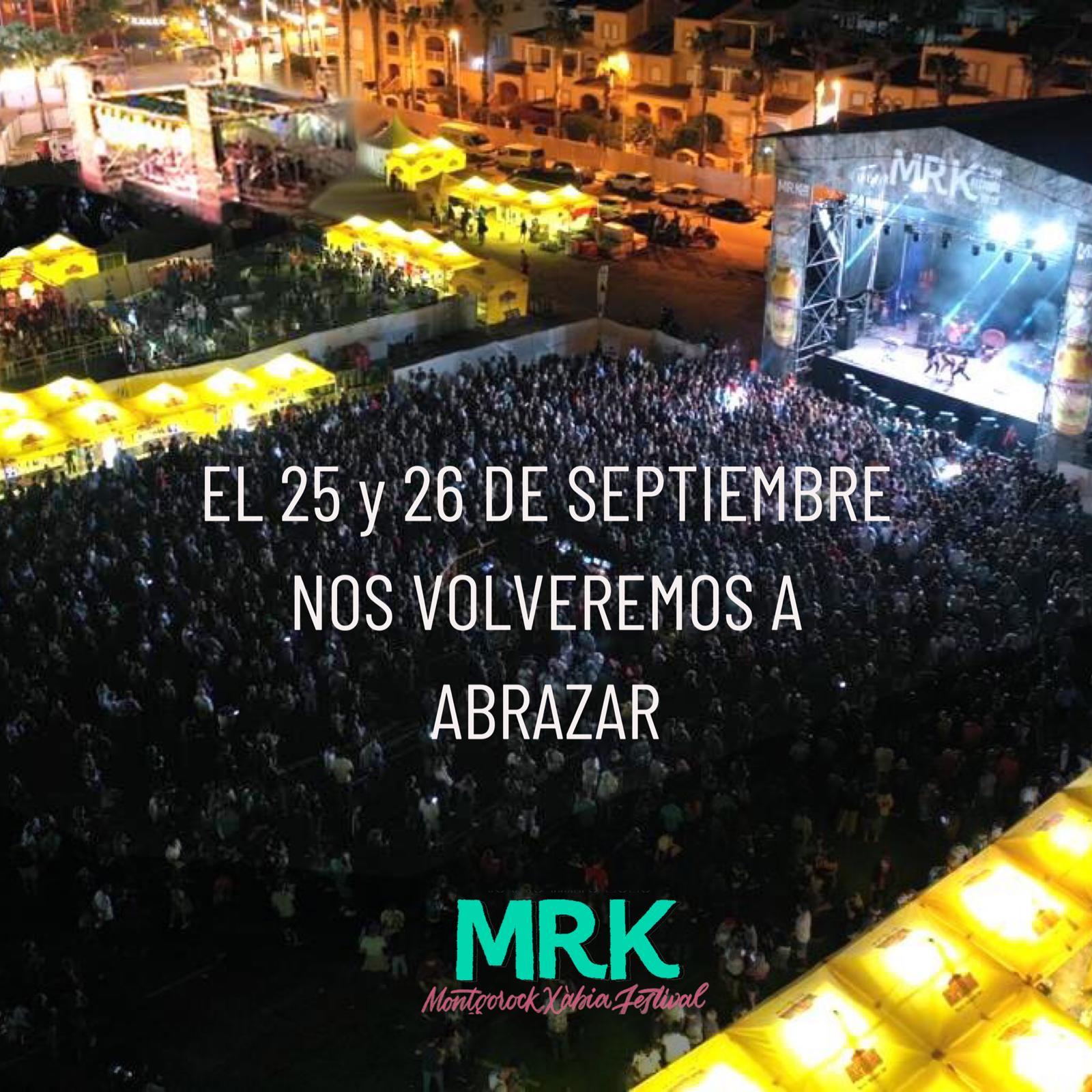 Nuevas fechas para Montgorock Xàbia Festival