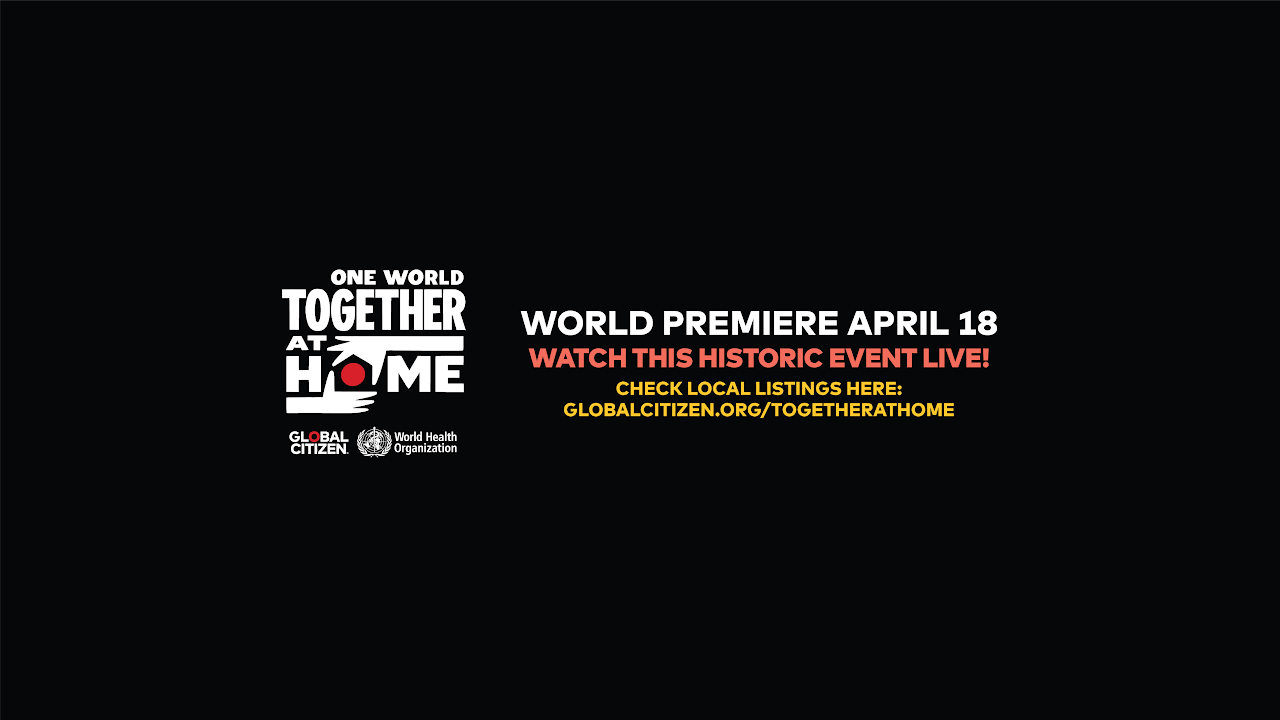ONE WORLD: TOGETHER AT HOME - En directo
