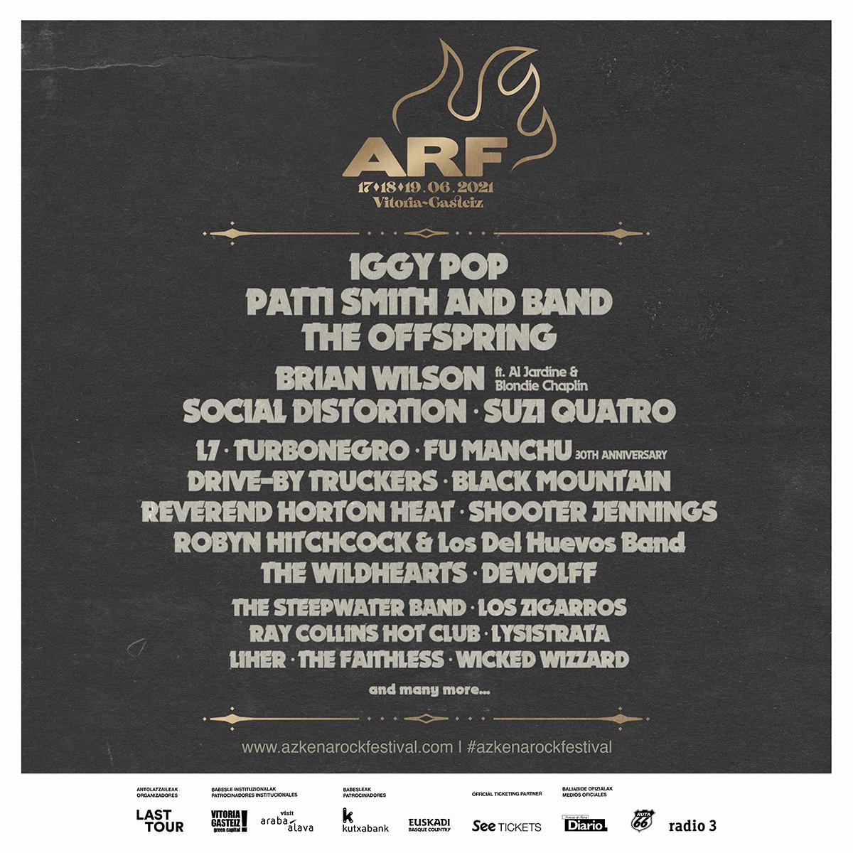Azkena Rock Festival lanza su Sofa Edition y anuncia confirmaciones para 2021