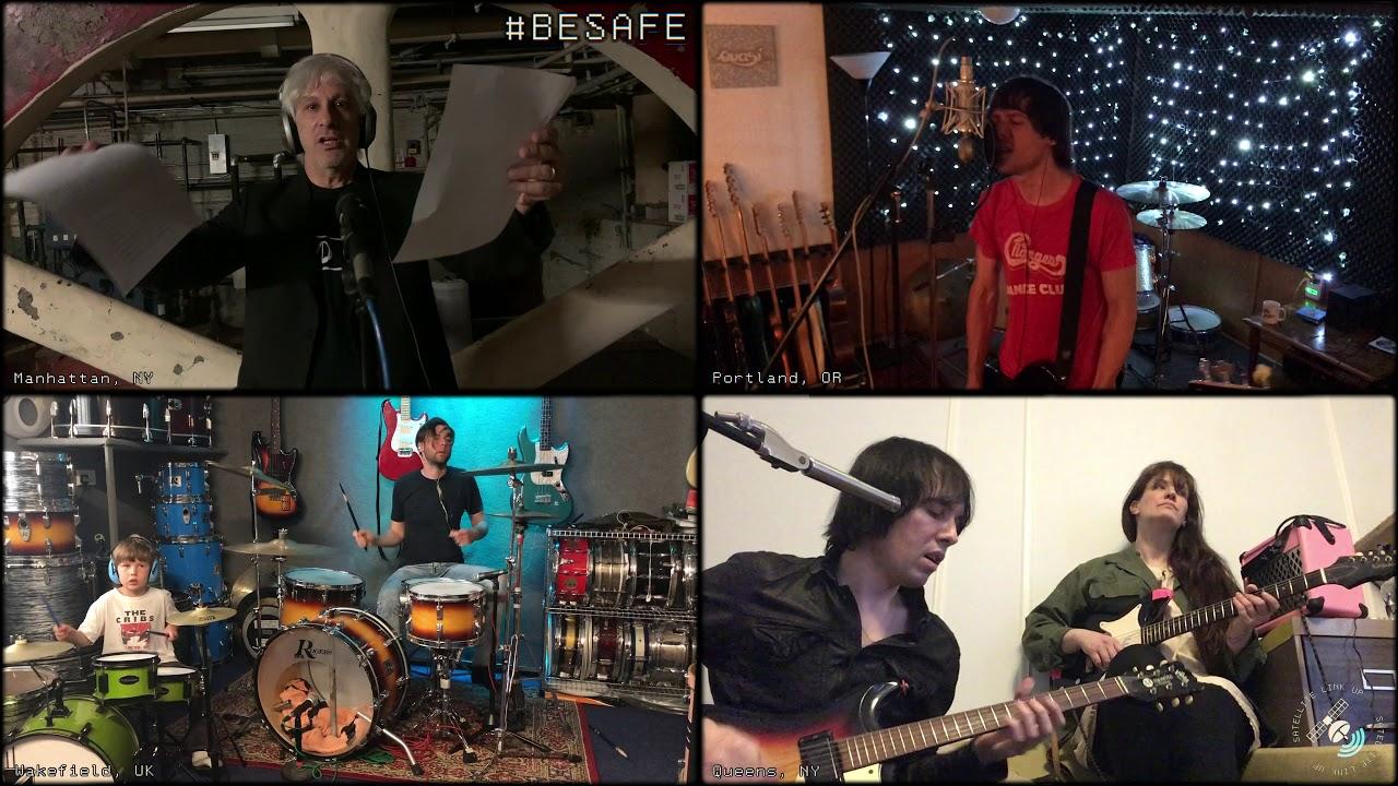 The Cribs reaparecen con Lee Ranaldo en un nuevo video para