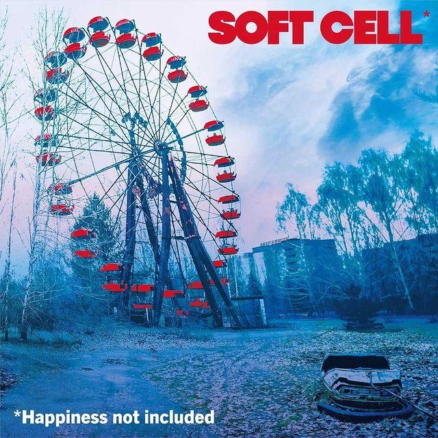 Portada del próximo disco de Sofr Cell, *Happinees Not Included