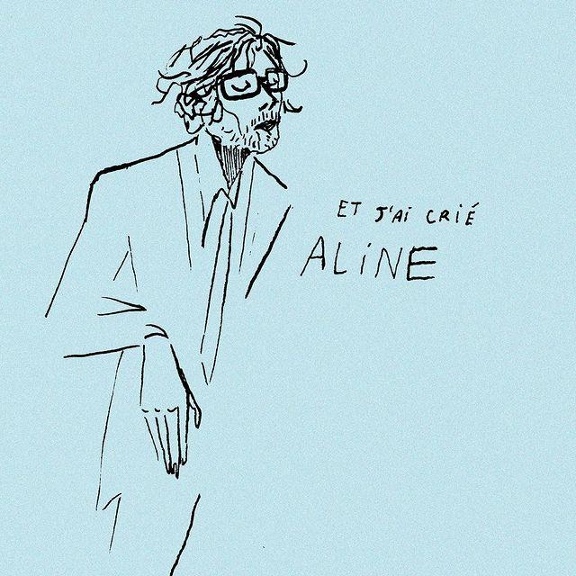 Dibujo en cuenta de instagram de Jarvis Cocker, por Leeislou.