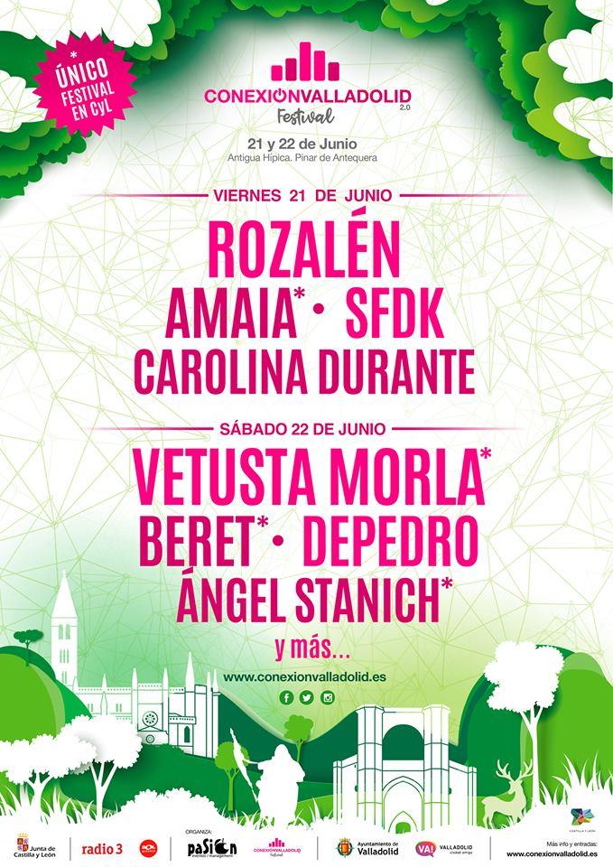 Conexión Valladolid Festival anuncia un avance de su distribución por días