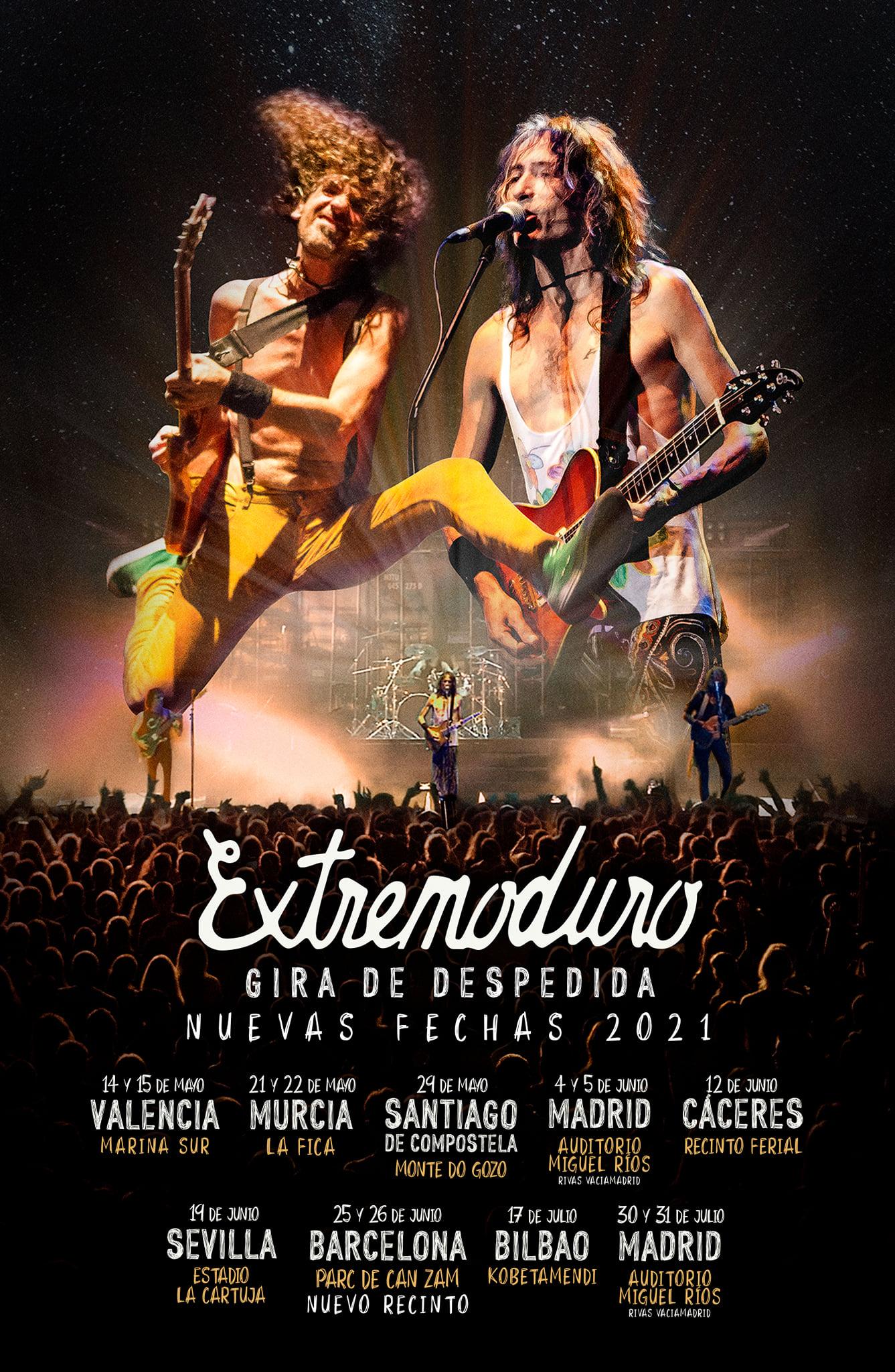 Extremoduro anuncia las nuevas fechas para su gira de despedida en 2021