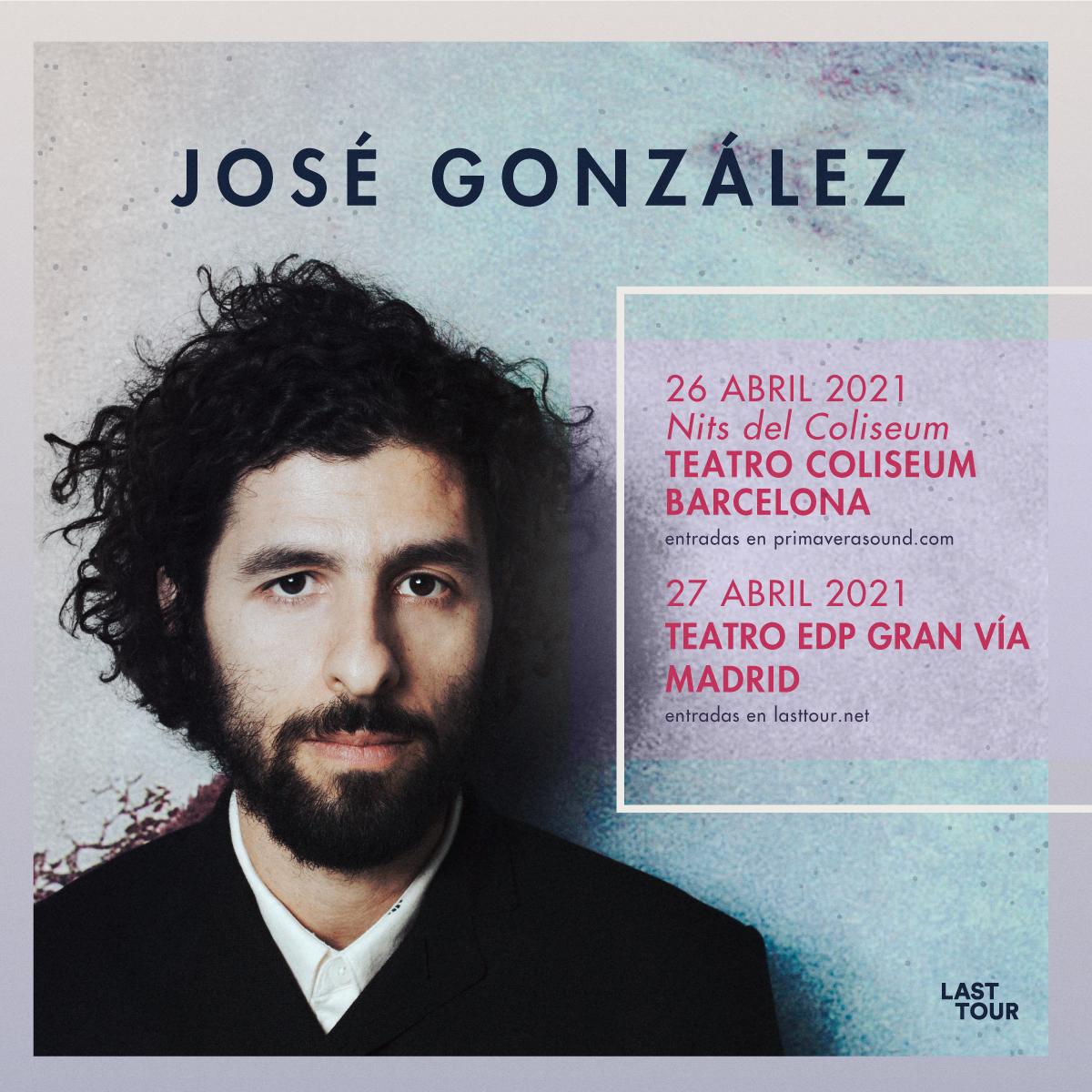 José González anuncia conciertos en Barcelona y Madrid para abril