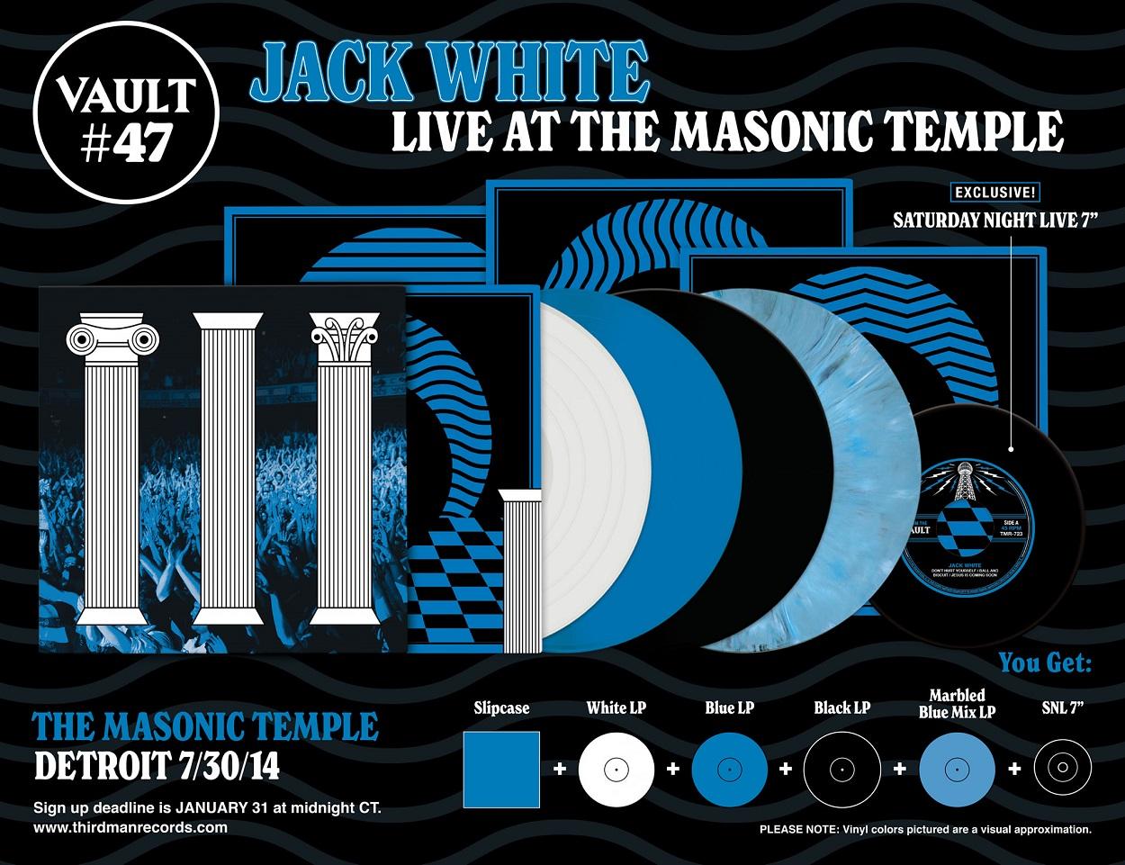 Jack White anuncia el lanzamiento de