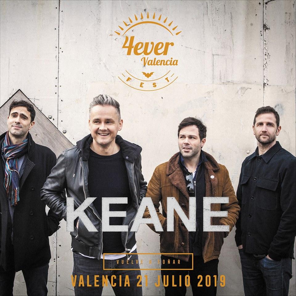 KEANE 4EVER VALENCIA FEST