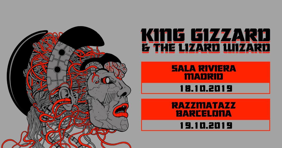 King Gizzard & The Lizard Wizard Madrid Barcelona