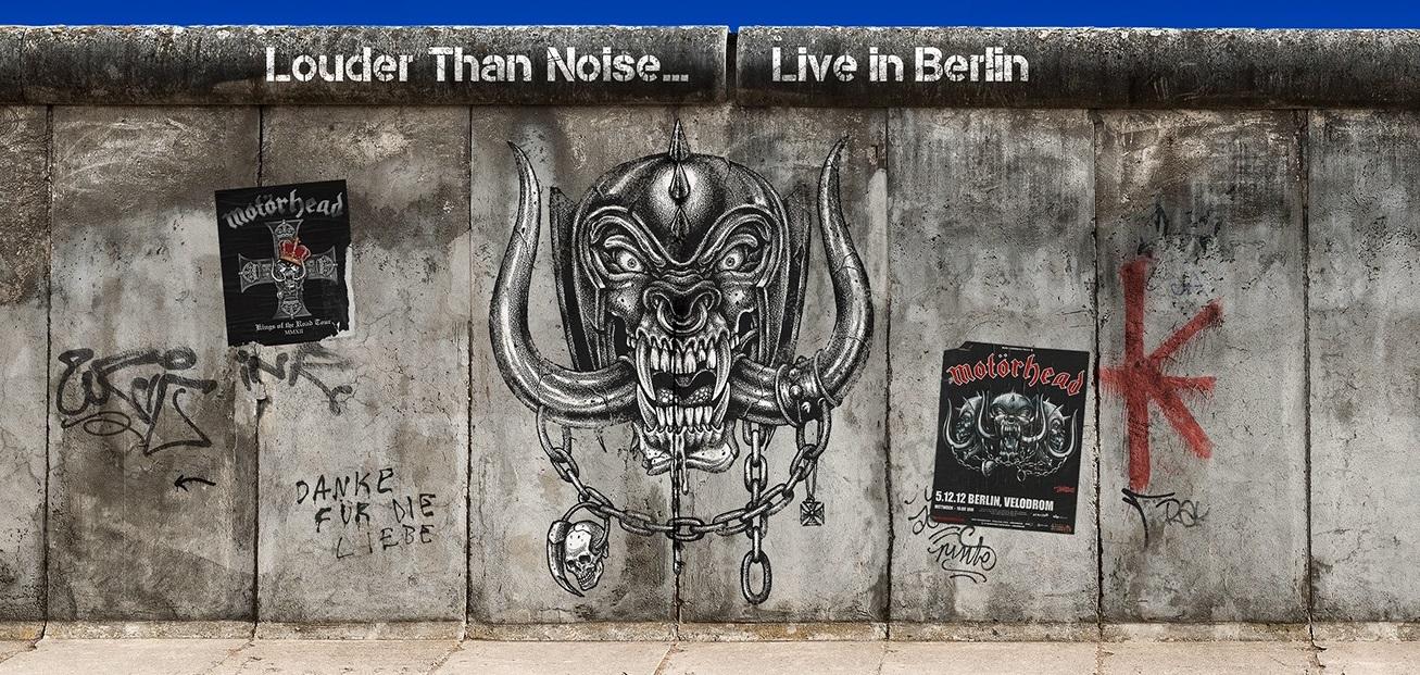 Motörhead lanzará álbum y película de su mítico concierto Louder Than Noise ... Live in Berlin