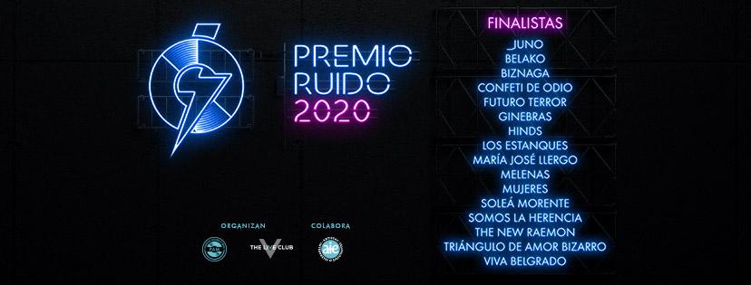 Ya hay nominados para Mejor Disco Nacional en los Premios Ruido 2020