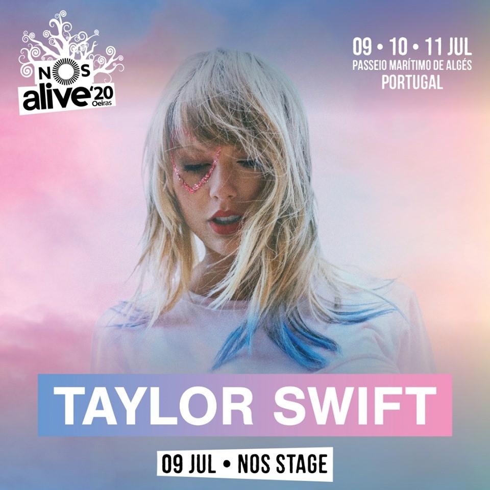 TAYLOR SWIFT - NOS ALIVE 2020