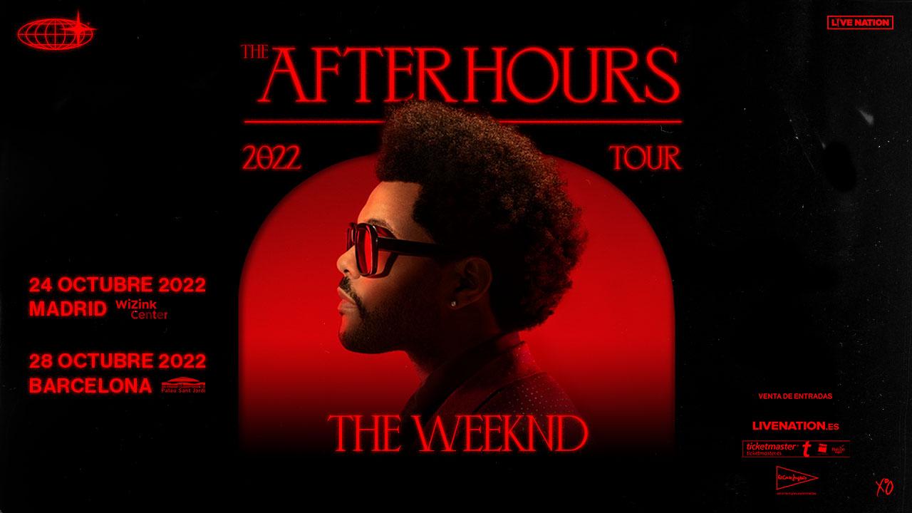 The Weeknd anuncia conciertos en Madrid y Barcelona para octubre de 2022