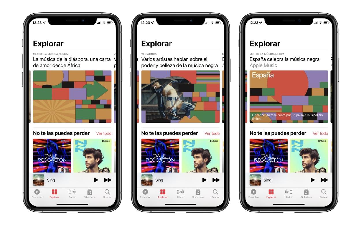 Celebra el Mes de la Música Negra con Apple Music