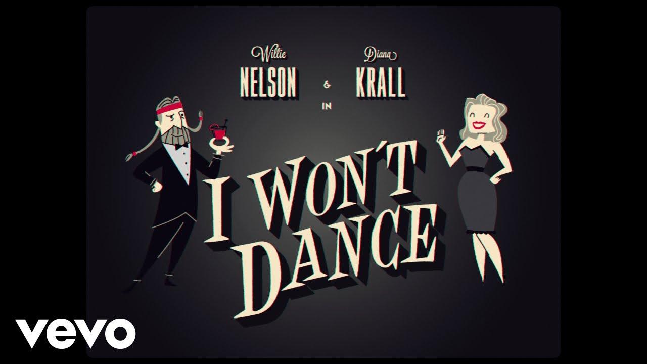 Willie Nelson y Diana Krall se vuelven dibujos animados para el videoclip de